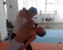 六月一日下午以色列近身格斗常规训练图片